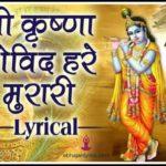 श्री कृष्णा गोविन्द हरे मुरारी lyrics